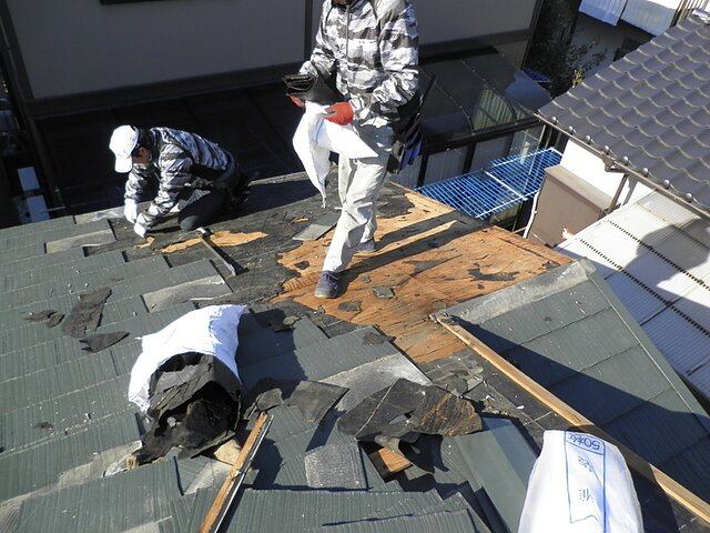福岡県 太宰府市 雨漏り修理 瓦の種類:コロニアル