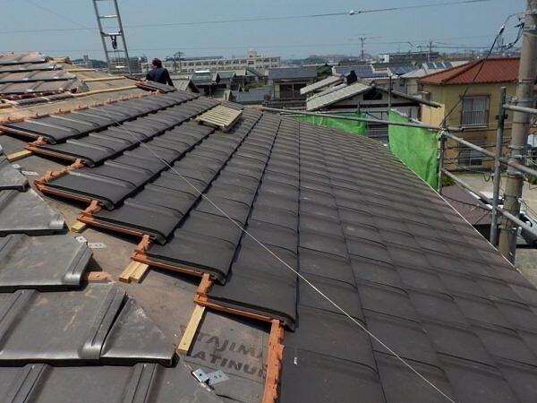 葺替え工事 那珂川町今光|福岡市南区の尾籠瓦工業の画像