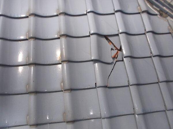瓦の差し替え工事 福岡市早良区梅林|福岡市南区の尾籠瓦工業の画像