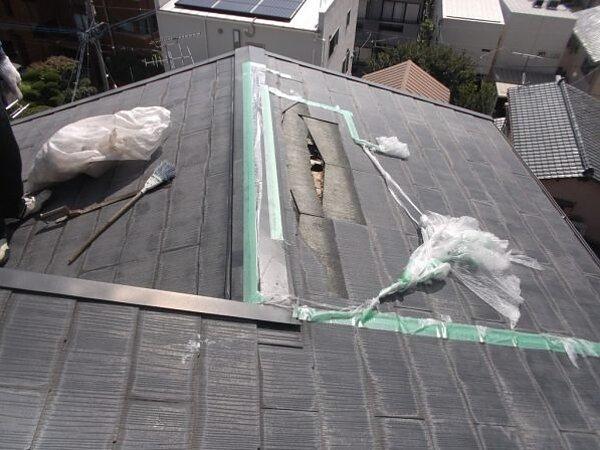 雨漏り修理 福岡市早良区|福岡市南区の尾籠瓦工業の画像