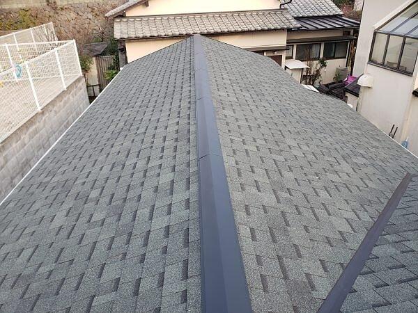 屋根瓦 シングル材の紹介の画像