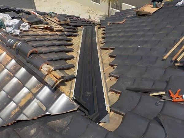 谷板金修理 糸島市二丈 福岡市南区の尾籠瓦工業の画像