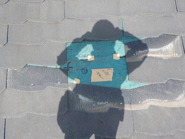コロニアル等のスレート瓦のメンテナンスの画像