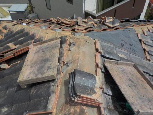 棟の取替え(強力棟施行) 糟屋郡須恵   福岡市南区の尾籠瓦工業の画像