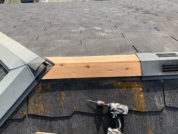 福岡市南区 棟板金交換 | 福岡市南区の尾籠瓦工業の画像