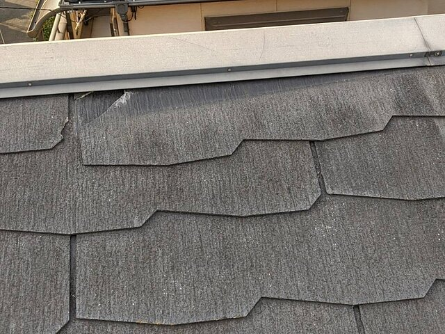 福岡市 南区 棟包板金の取り替え 瓦の種類:コロニアル
